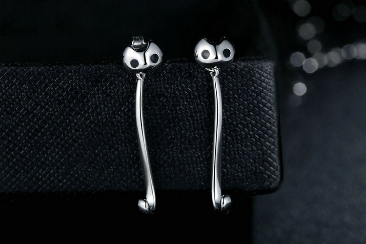 My Cute Cat - 1-for-3 Style Earrings Crafted from Silver