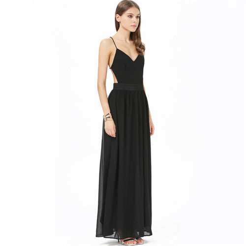 Long Chiffon Elegant Dress