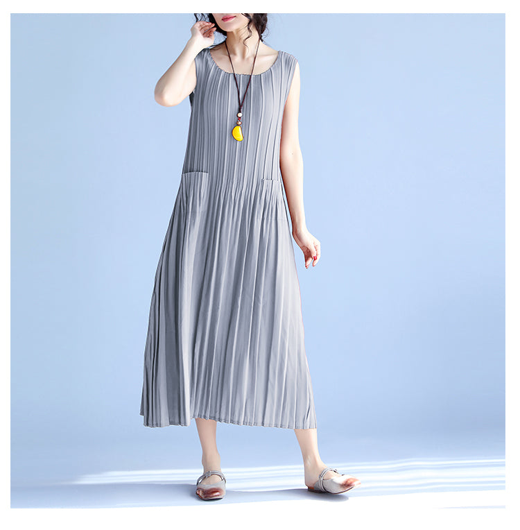 Women's Summer Casual Dress Sleeveless