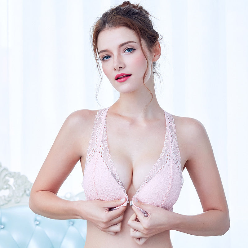 Full Lace Sexy Lingerie with Push-Up Bra and Panties Sets in 5 Colors and 11 Sizes