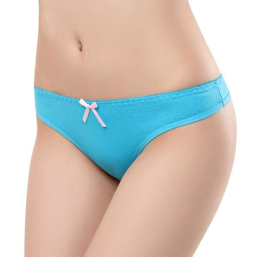 Pack 2 Pieces of Plain but Sexy Women's G-strings Panties in various Colors
