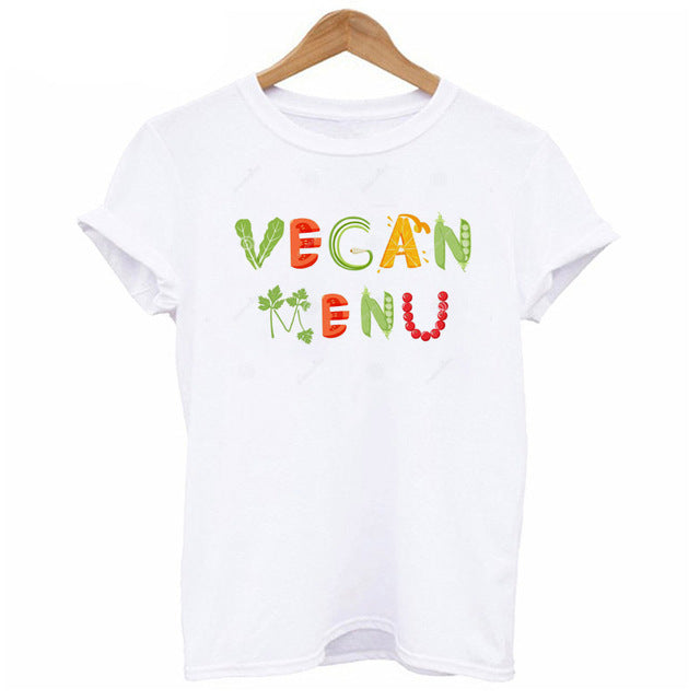 27 Cute Designs of T-Shirts for Vegan Women with Happy Piglets - Be Vegetarian Tees with 135 Variants