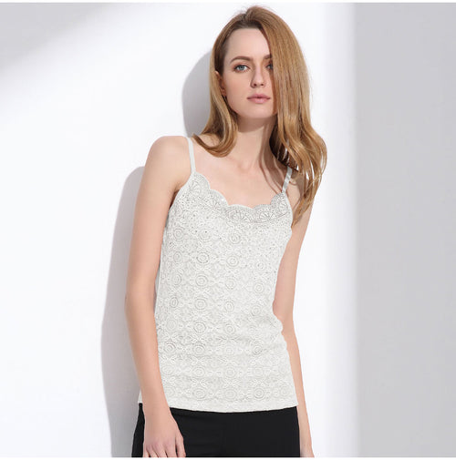 Women's Cute Lace Tank Tops in 3 Colors
