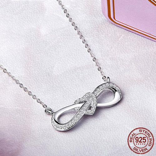 Feel of Diamonds - Infinite Love Pendant with Chain