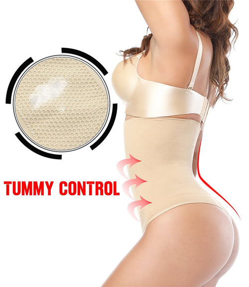 Women's High Waist Tummy Control Panties (Thongs)