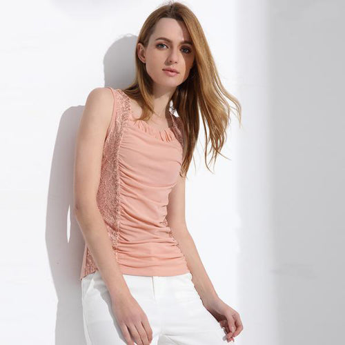 Women's Elegant Lace Blouses in 3 Colors for Casual or Semi Formal Wear