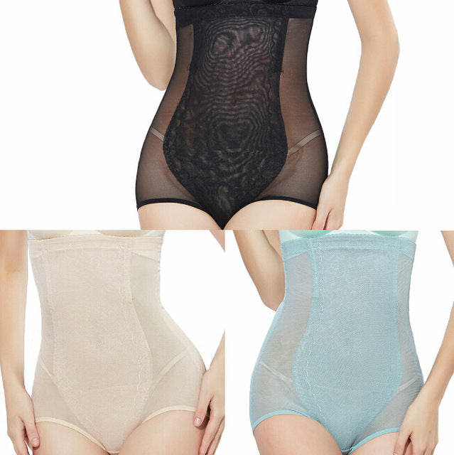 Set of 3 Pieces of Sexy Body Shaping Seamless Tummy Control Panties