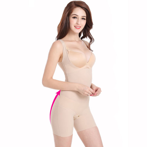Women's High Quality Elastic Slimming Underwear Shaper Bodysuits in 2 Colors