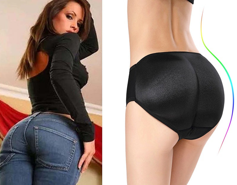 Women's Low Waist Push-up Hips Enhancer Trainer Panties