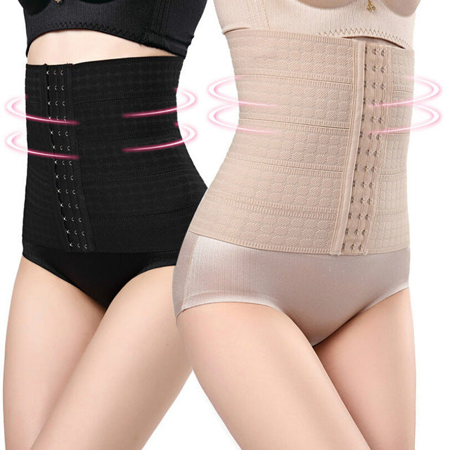 Women's High Quality Elasticated Belly Band Waist Trainer - Set of 2 Pieces