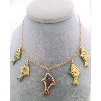 Necklace Limoges Jewelry