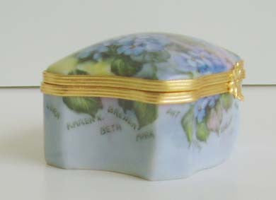 Hand painted Limoges Boxes Custom