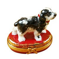 Dog Limoges Boxes French Porcelain Figurines