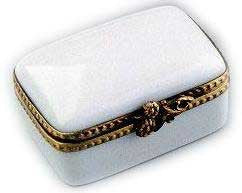 Custom White Limoges Boxes