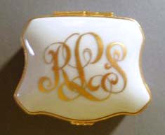 monogram L:imoges Boxes Personalized