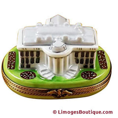 White house united states patriotic limoges boxes