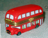 London Double Decker Bus Limoges Box