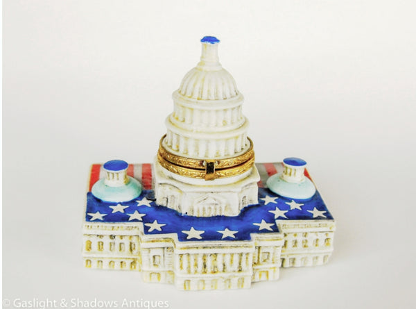 Usa Capitol Limoges Box