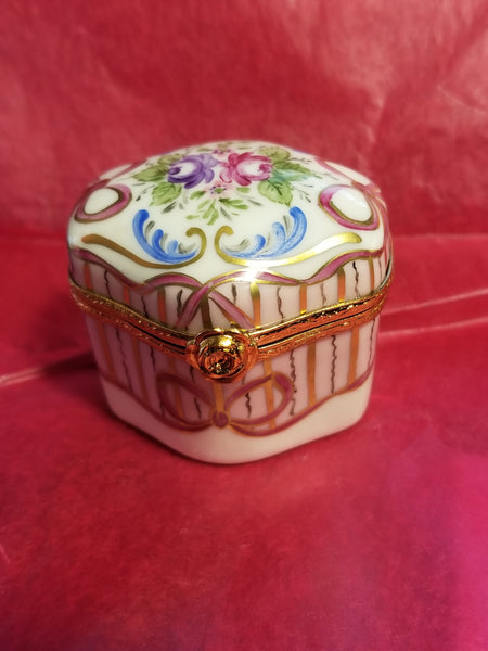Odd Shape- 4 Perfume Bottles Limoges Box - Artoria New