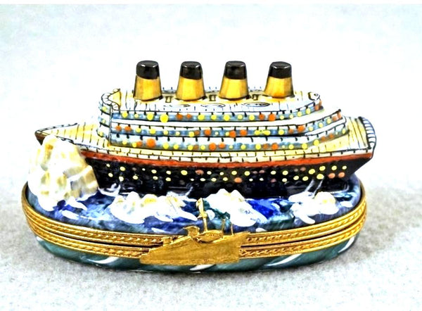 Titanic Boat Limoges Box - Overstock item