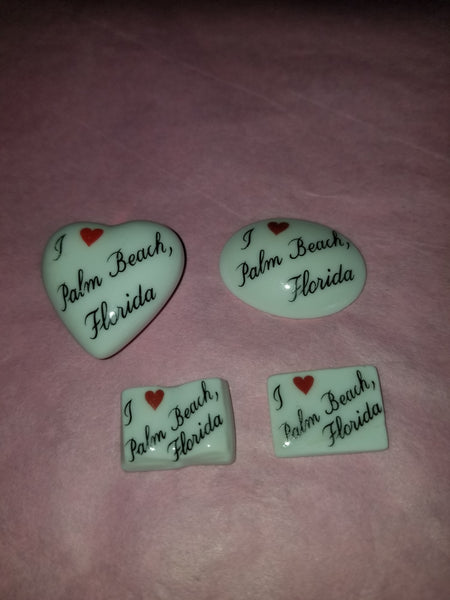 I Love Palm Beach Florida -  Goodie Trinket