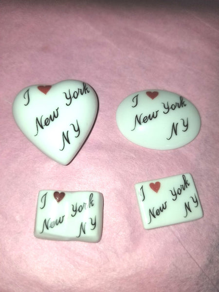 I Love NEW YORK -  Goodie Trinket
