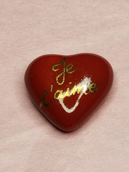 Red Je Talme Heart -  Goodie Trinket