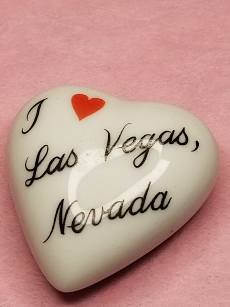 Las Vegas Nevada Heart -  Goodie Trinket