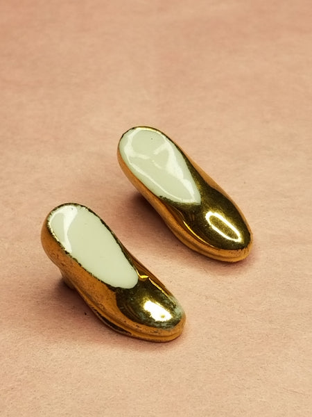 2 Mini Gold Shoes -  Goodie Trinket