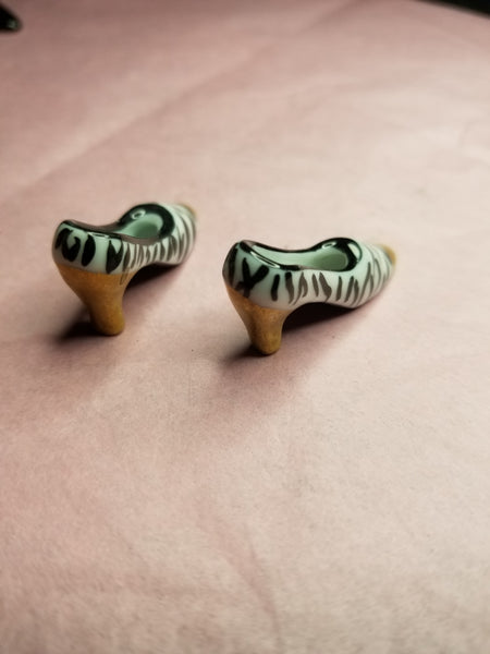 2 Zebra Shoes -  Goodie Trinket