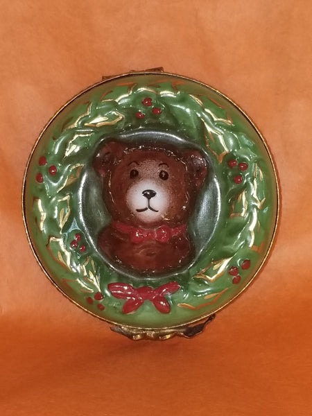 Christmas Bear Wreath