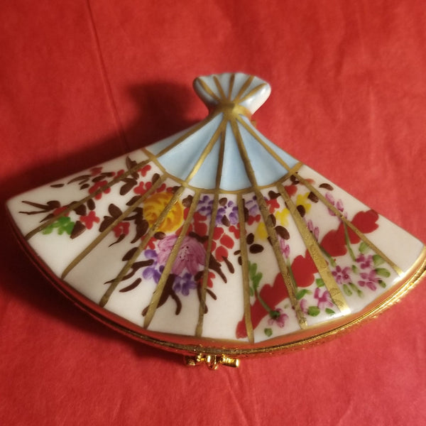 Oriental Fan Limoges Box