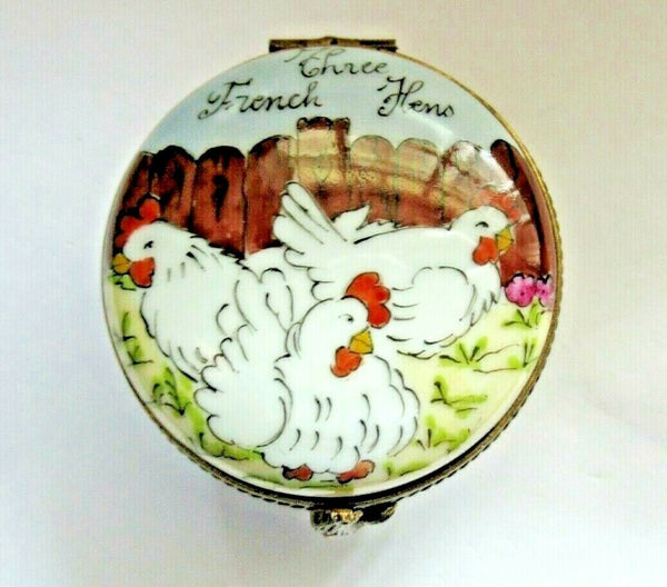 Three French Hens 12 Days Of Christmas La Gloriette- Twelve Days