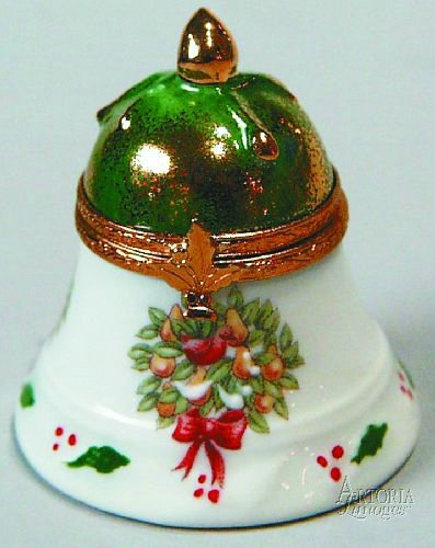 Christmas Bell With Decal