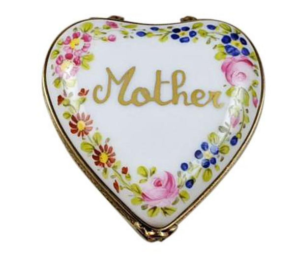 Mother Love Always Heart Limoges Box
