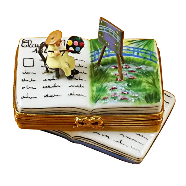 Book Monet Water Lillies Limoges Box