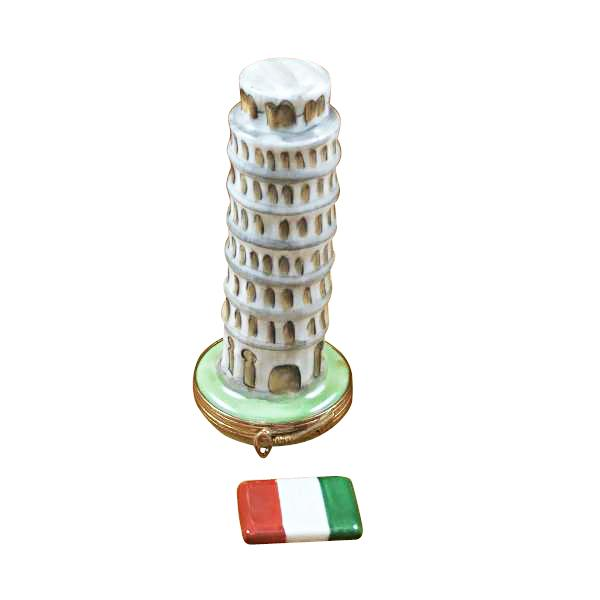 LEANING TOWER OF PISA LIMOGES BOXES BOUTIQUE
