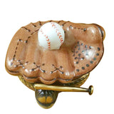 Baseball Glove With Ball Limoges Boxes