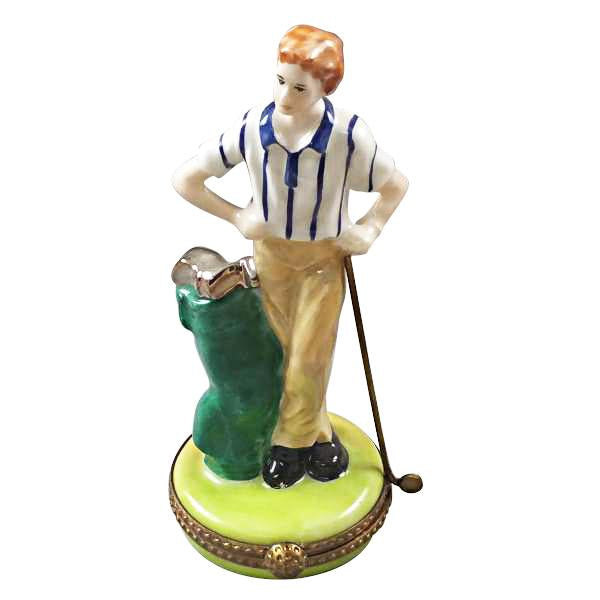 Golfer Limoges Boxes Limoges Boxes Porcelain Figurines Collectibles Gifts