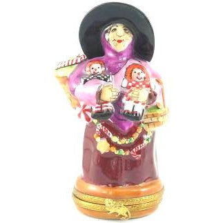 Lynn Haney: Gumdrop Witch Limoges Box