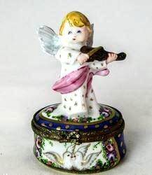 Angel w Violin - EXTREMELY RARE RETIRED - 3 Extra Days to Ship