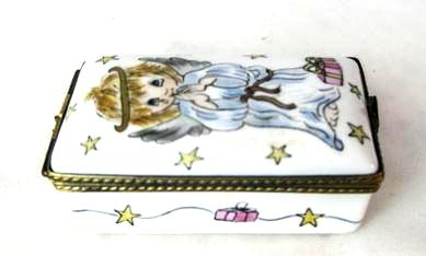 Angel on Rectangle - RARE RETIRED - 3 Extra Days to Ship