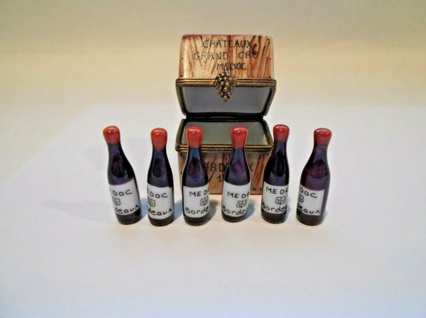Wine Chateaus Crate With 6 Bottles