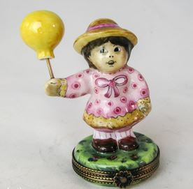 Girl w Balloon - RARE RETIRED - 3 Extra Days to Ship