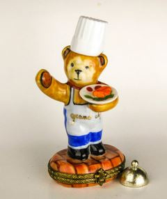 Teddy Bear Chef - RARE RETIRED - 3 Extra Days to Ship