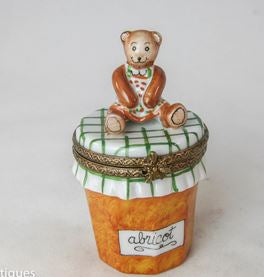 Bear on Apricot Jam- RARE RETIRED - 3 Extra Days to Ship