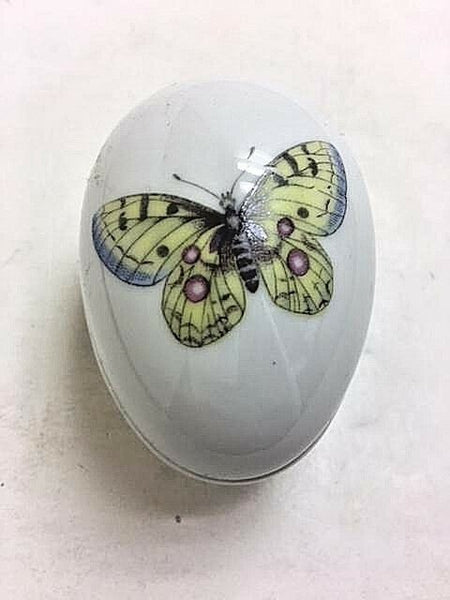Yellow Butterfly - UNHINGED Chamart - Limoges Box