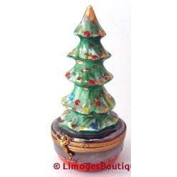 Christmas Tree Limoges Boxes - Limoges Boxes Porcelain Figurines