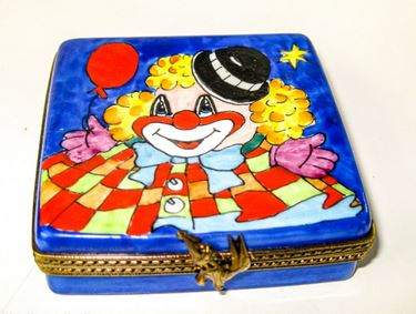 Circus Clown w Balloon on Flat  - EXTREMELY RARE RETIRED - 3 Extra Days to Ship