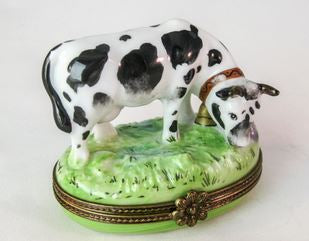 Black White Cow - RARE RETIRED - 3 Extra Days to Ship